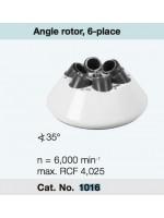 Ротор 1016 к центрифуге Hettich Micro 220R (6х50 мл, 6000 об/мин, 3904g)