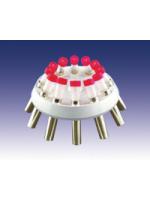 Ротор угловой 12×15/10 мл, укомплектованный бакетами № 13080a или № 13081 (для пробирок 6 мл), (MPW, Кат № 11237C)