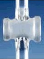 Кран одноходовой, без ключа, отверстие 2,5 мм, NS 14,5, боковая часть 9 мм (Кат. 286443805)