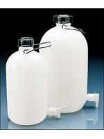 Бутылка узкогорлая, с вентилем и ручкой, 50 л, пластиковая PE-HD (81666) (Vitlab)