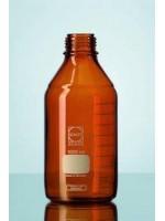 Бутыль лабораторная из темного стекла, без крышки, 2000 мл, GL 45, Duran (Кат № 218066304)